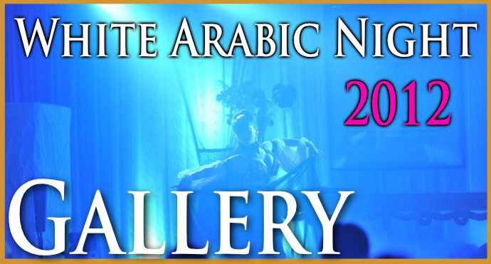White Arabic Night 2012 banner
